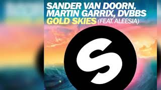 SANDER VAN DOORN MARTIN GARRIX DVBBS FEAT ALEESIA - Gold Skies