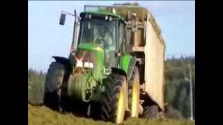 Traktory  -  akce senáž