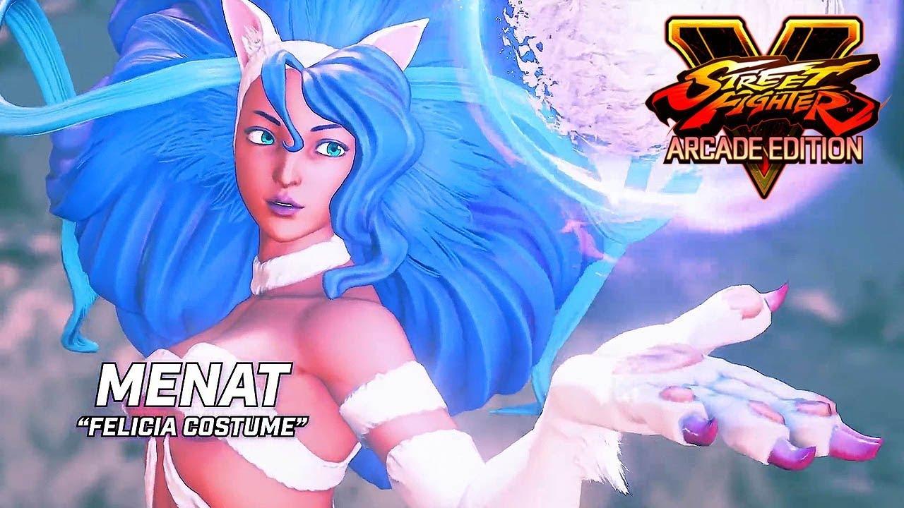 Street Fighter 5 Arcade Edition - Darkstalkers Costumes Trailer @ 1080p (60ᶠᵖˢ) HD ✔