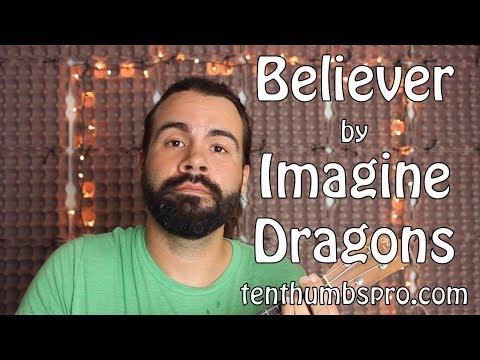 Download Believer Imagine Dragons Easy Ukulele Tutorial