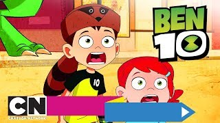 Бен 10 | Переполох с талисманами | Cartoon Network