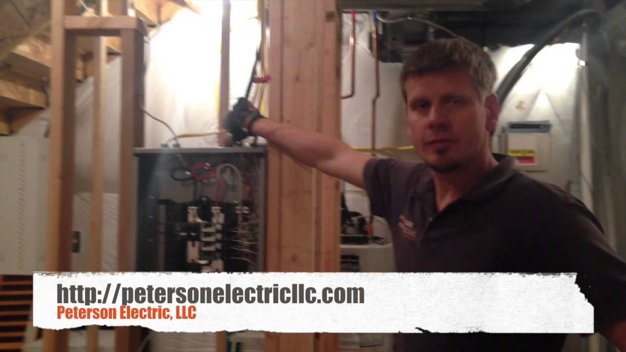 Electrical 50 Amp Sub Panel Wiring For A Basement Youtube Small Diagram Photo