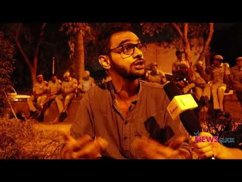 """Govt. is Trying to Destroy JNU"": Umar Khalid"