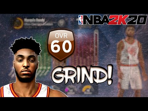 NBA2K20 How To Grind From 60 Overall! (No VC)