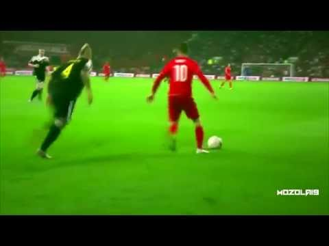 Aaron Ramsey vs Belgium (Home) 12/06/15 HD
