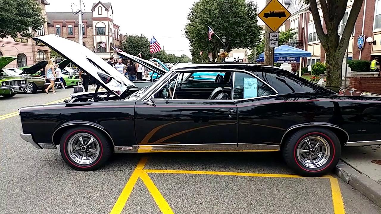 1967 Metallic Black Pontiac Gto Tach On Hood 455 Four Barrel Engine Wiring Diagram