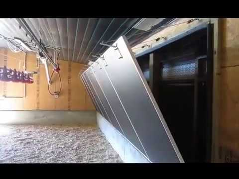 Georgia Poultry Tego Tunnel Door & Georgia Poultry Tego Tunnel Door - YouTube