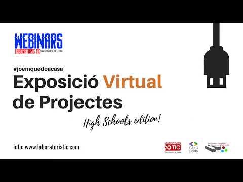 RESUM EXPOSICIÓ VIRTUAL DE PROJECTES TORRE VICENS - PRACTICANTS ONLINE LABORATORIS TIC