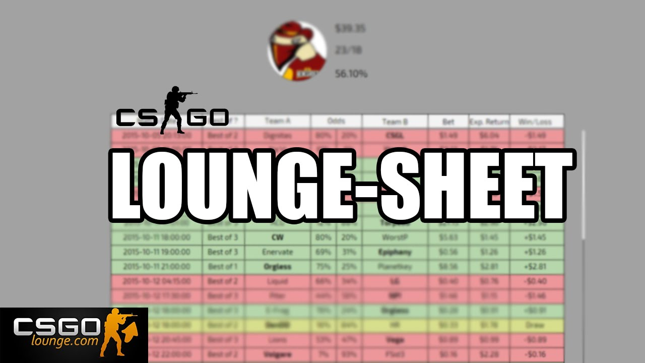 Csgo betting predictions spreadsheet download research on sports betting