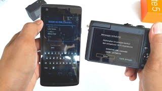 Cara Menghubungkan Wifi Di Canon Eos M100 Ke Smartphone | Transfer file Kamera lebih Mudah & Cepat