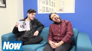 The X Factor's Andrea Faustini Takes Now's Pug Picture Challenge!