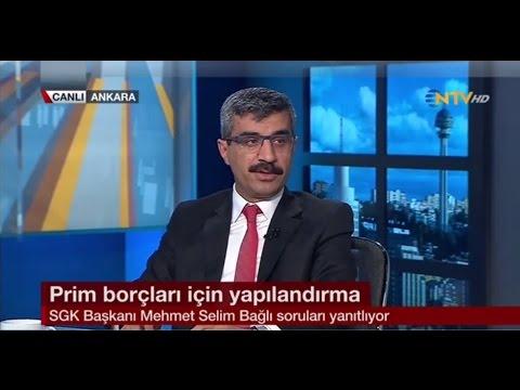 Sosyal Güvenlik Kurumu Başkanı Dr. Mehmet Selim Bağlı NTV'nin Canlı Yayın Konuğu Oldu