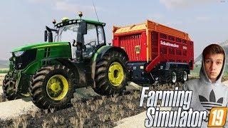 """""""Od Zera Do Milionera"""" #13 Farming Simulator 19Sprzedaż Rzepaku i Zbieranie Słomy! :D"""