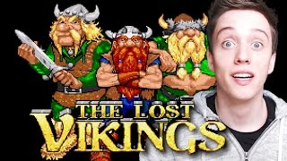 The Lost Vikings ORIGINAL Gameplay! (1992)