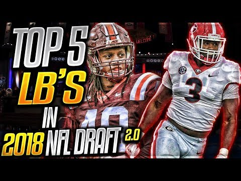 Tremaine Edmunds = Brian Urlacher? | Top 5 Linebackers In The 2018 NFL Draft