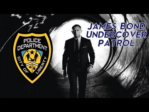 James Bond Undercover Cop Patrol - GTA IV