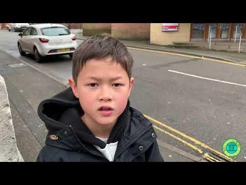 Lucas Travels To Ilkeston, Derbyshire, England