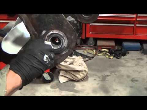 Repair loose bushing bore with epoxy on Bobcat mini