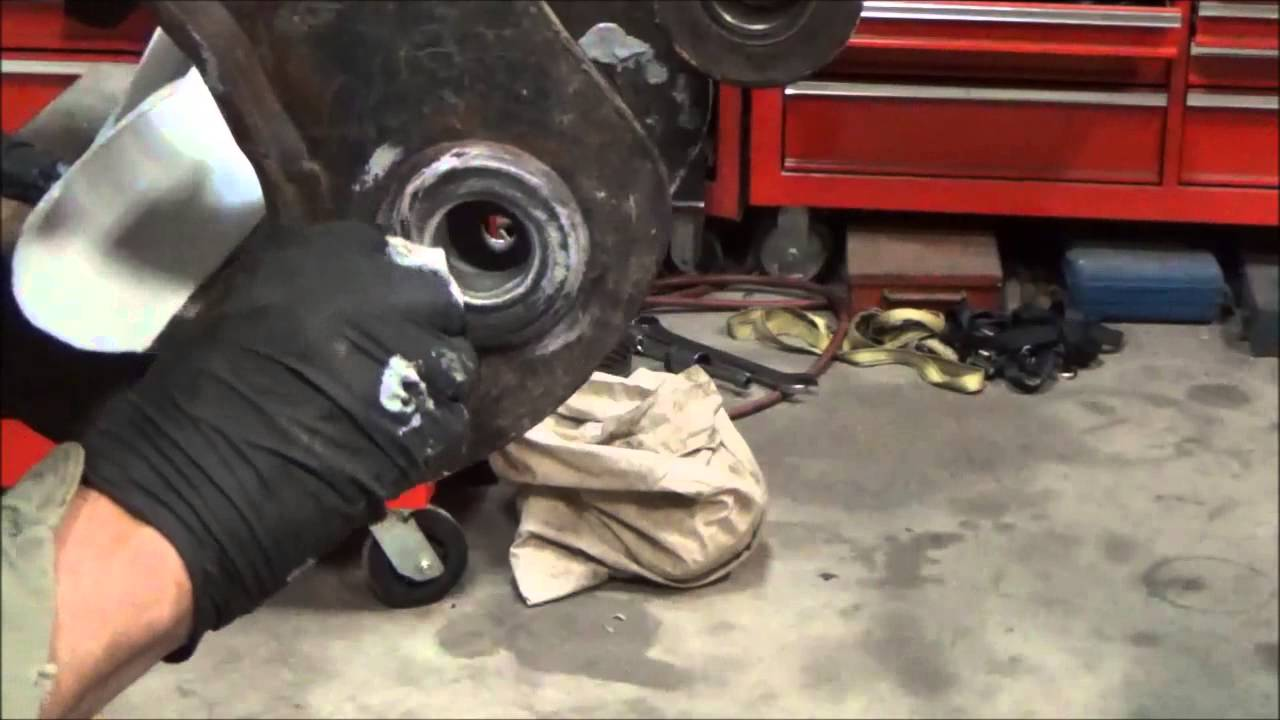 Repair loose bushing bore with epoxy on Bobcat mini excavator