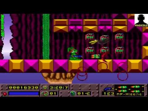 Jazz Jackrabbit Turbo Gameplay 🔴 Live Stream Gaming 2018