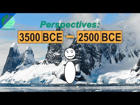 3500 to 2500 BCE - A crucial point in human history