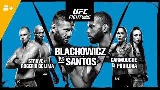 UFC Prague Blachowicz v Santos Fight Breakdowns & Predictions