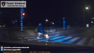 Achtervolging (pursuit) motorscooter A13 Delft naar Ypenburg 29-07-2016