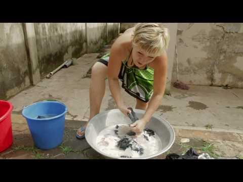 Tøjvask i Ghana