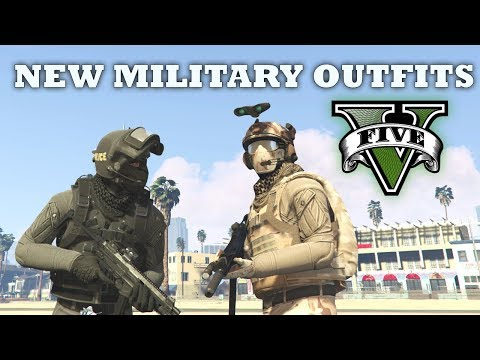 GTA V - Delta Force & SWAT Outfits   My New Top Custom Doomsday Heist Outfits