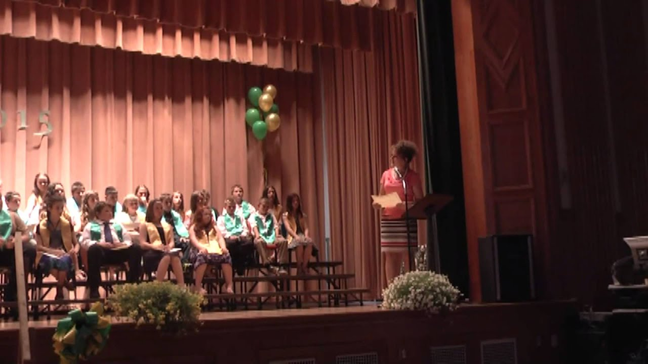NAC 5th Grade Graduation  6-22-15