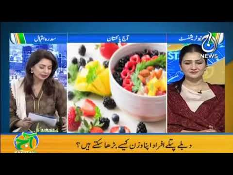 How To Gain Weight | Aaj Pakistan with Sidra Iqbal | Aaj News | 18 February 2021 | Part 2