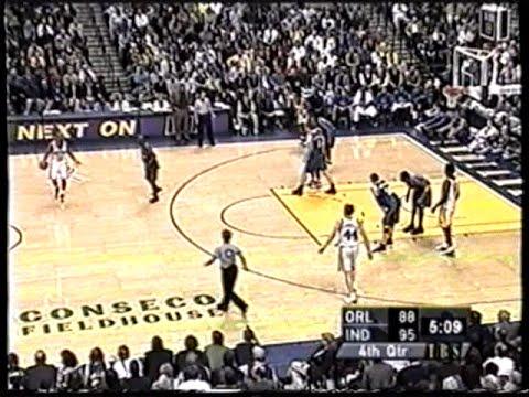 Orlando Magic @ Indiana Pacers (05/03/2002)