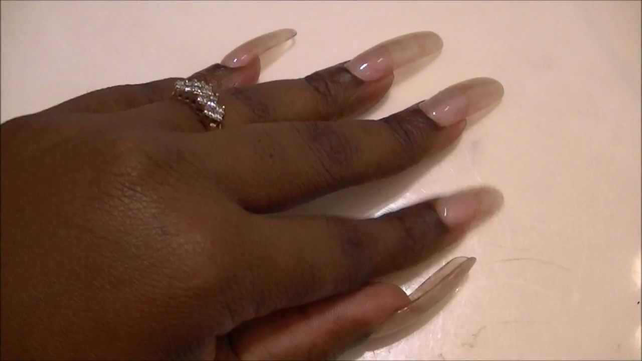 LONG NAIL FETISH !!! TAPPING,SCRATCHING, NATURAL NAILS NO POLISH ...
