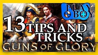Guns of Glory: 13 Tips in 5 Minutes