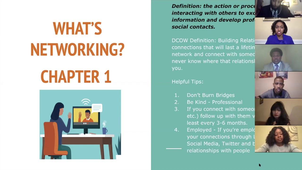 How to Virtually Network - #KamaraStyle