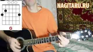 Песня под гитару начинающим! Есть в Италии маленький дом - Аккорды и разбор