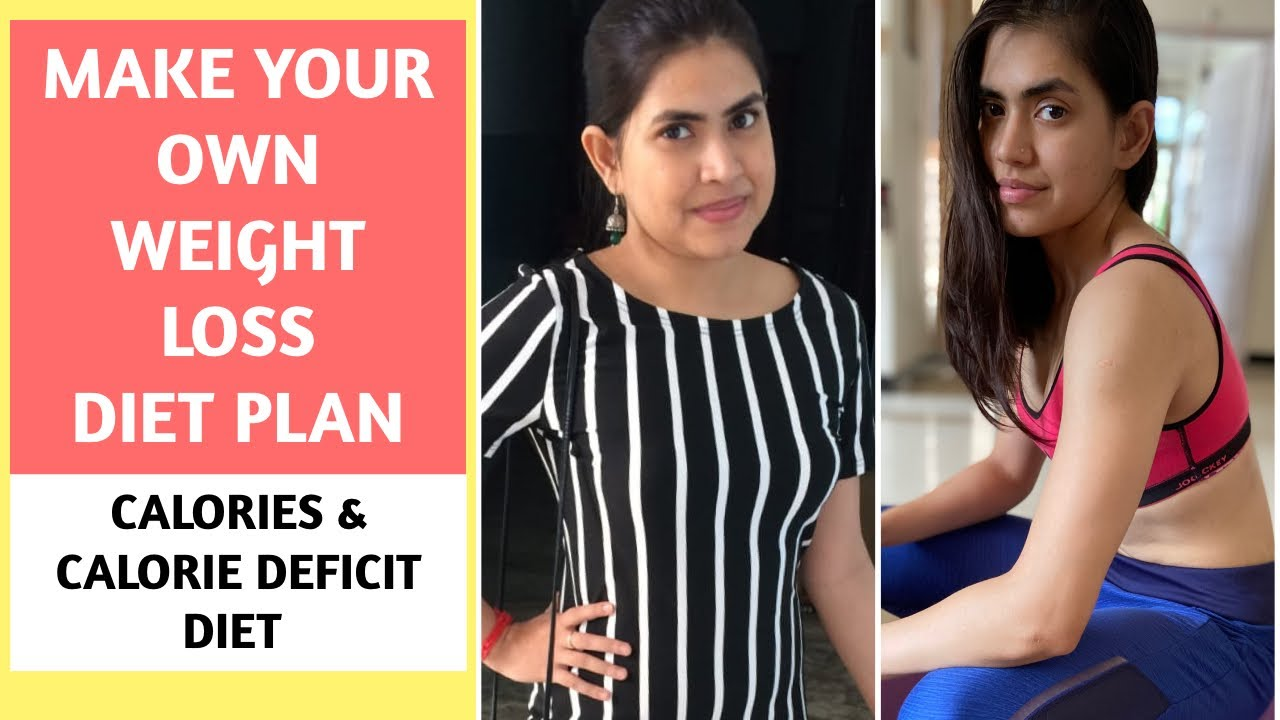 Make your OWN WEIGHT LOSS DIET PLAN FOR FREE   Calorie Deficit Diet