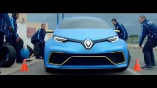 Renault Zoe E-Sport Concept video debut