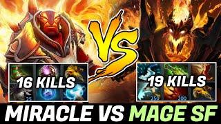 MIRACLE vs his Rival/Friend again — Ember Spirit vs Shadow Fiend
