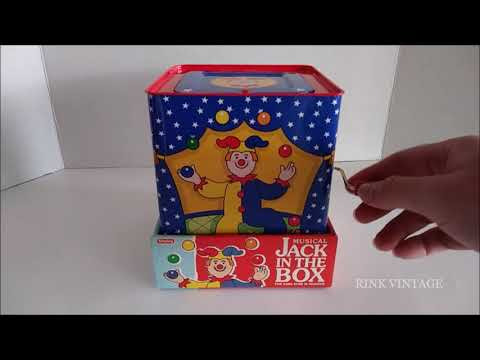 TOY DEMO: SCHYLLING MUSICAL JACK IN THE BOX