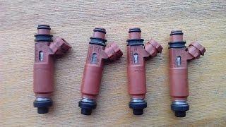 Как самостоятельно промыть форсунки инжектора?