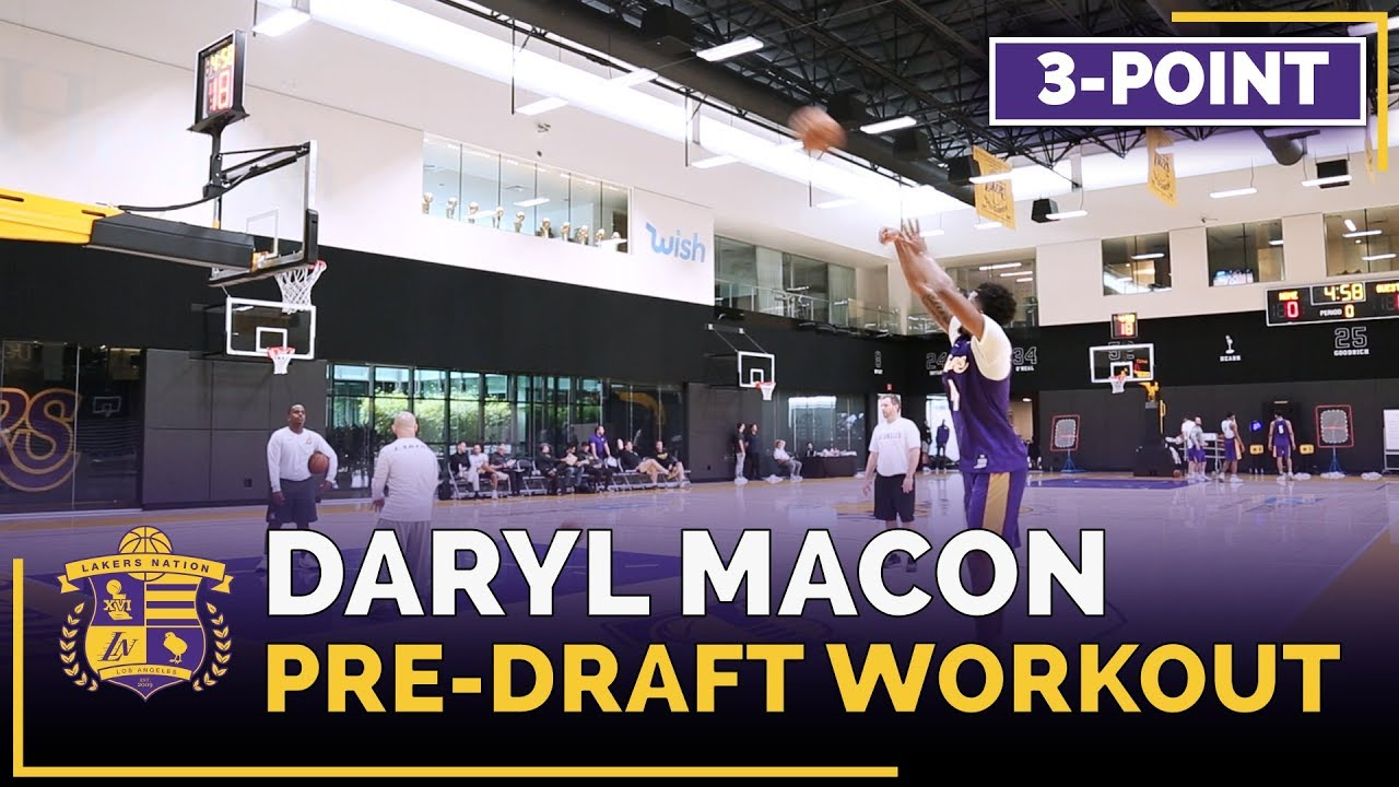 lakers-pre-draft-workout-daryl-macon-3-point-shoot-around