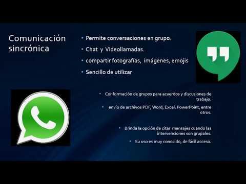 Aplicaciones de las TIC para la comunicación