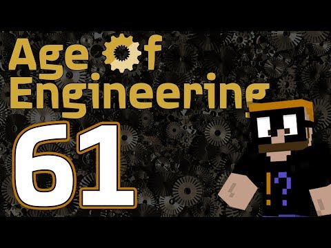 Age of Engineering Minecraft 1.10+ - Ep. 61 - Lost in Space
