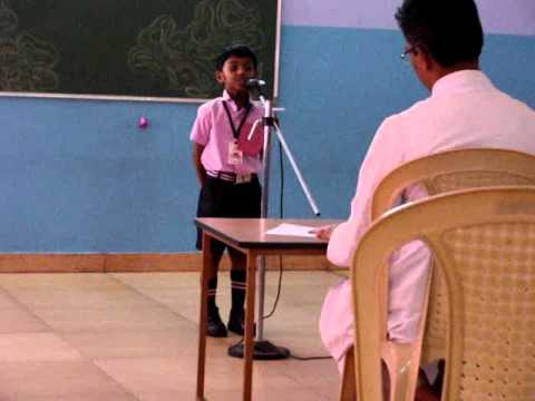 Mambazham Kavitha -Recitation -  ALWIN THOMAS GEORGE