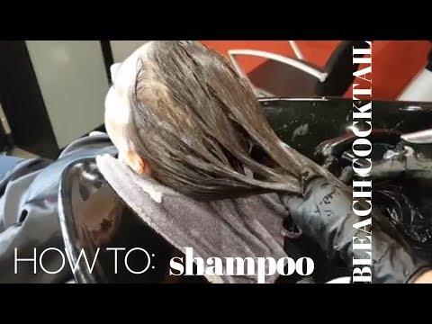 Shampoo BLEACH COCKTAIL: Going One Shade Lighter