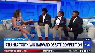 Real Life Great Debators who beat Harvard in Debate competition.