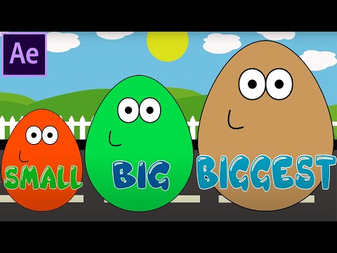 Thumbnail: Surprise Eggs POU Learn Sizes from Smallest to Biggest Opening Eggs with Toys 3