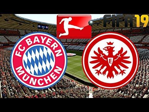 FIFA 19 | FC BAYERN MÜNCHEN vs. EINTRACHT FRANKFURT ...
