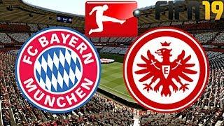 FIFA 19 | FC BAYERN MÜNCHEN vs. EINTRACHT FRANKFURT | BUNDESLIGA ◄FCB #59►